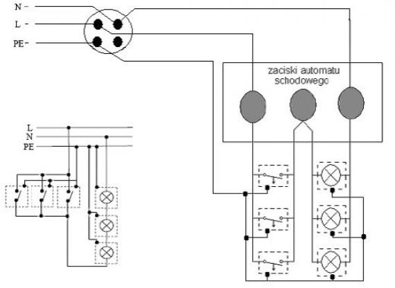 Klasyczne Układy Sterowania Oświetleniem Automat Schodowy