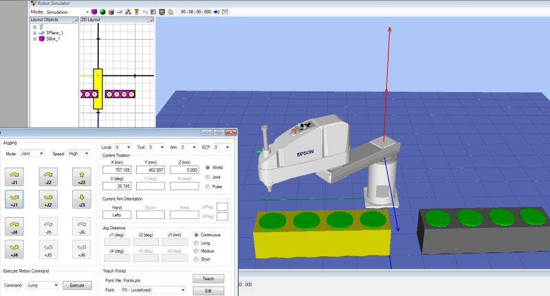 Projektowanie i analiza stanowisk zrobotyzowanych w oprogramowaniu RC+