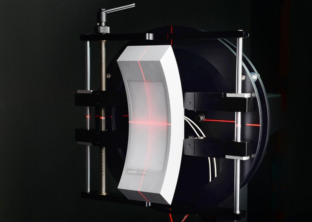 Badanie oprawy oświetleniowej PEGASI LED EL-26-DOWN w ciemni fotometrycznej