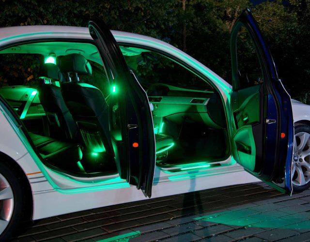 Nowe Wnętrze Samochodu Dzięki Oświetleniu Ledambient Led