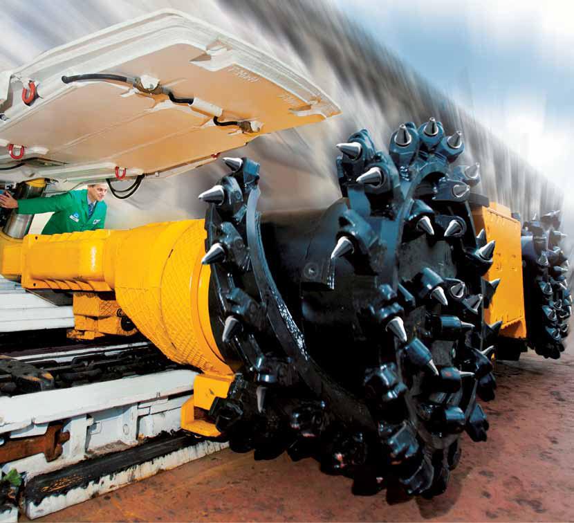 maszyny i urządzenia górnicze ładowarki
