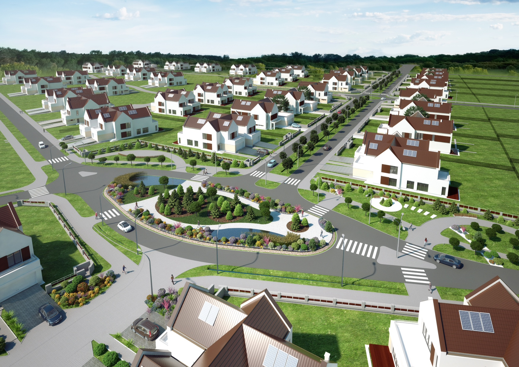 Wizualizacja osiedla (fot. materiały prasowe)