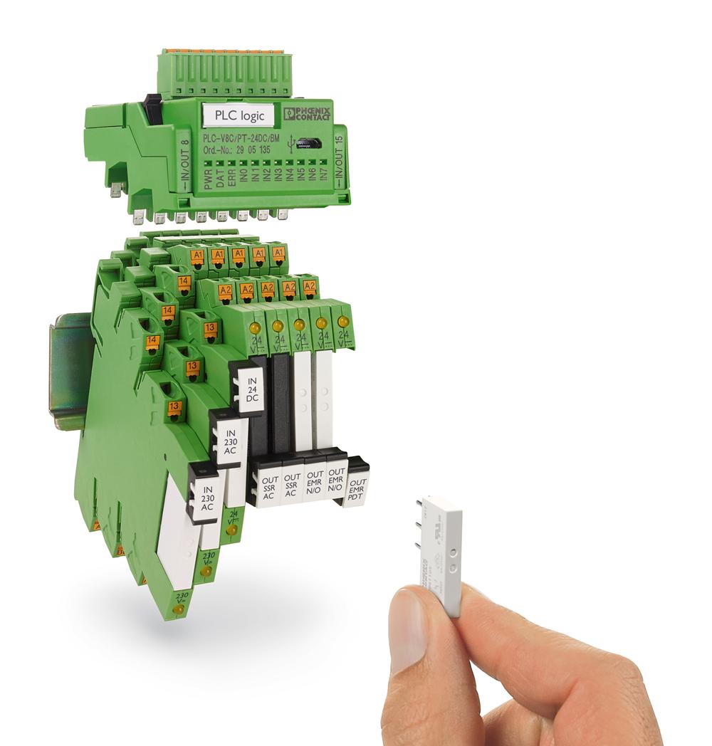 Programowalne moduły logiczne - kompaktowe sterowanie i łączenie