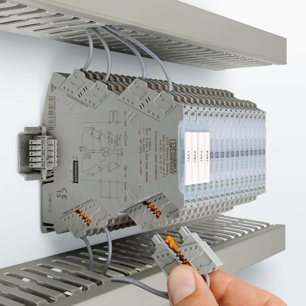 Kompaktowe kondycjonery sygnałów - proste jak nigdy, wąskie jak zawsze