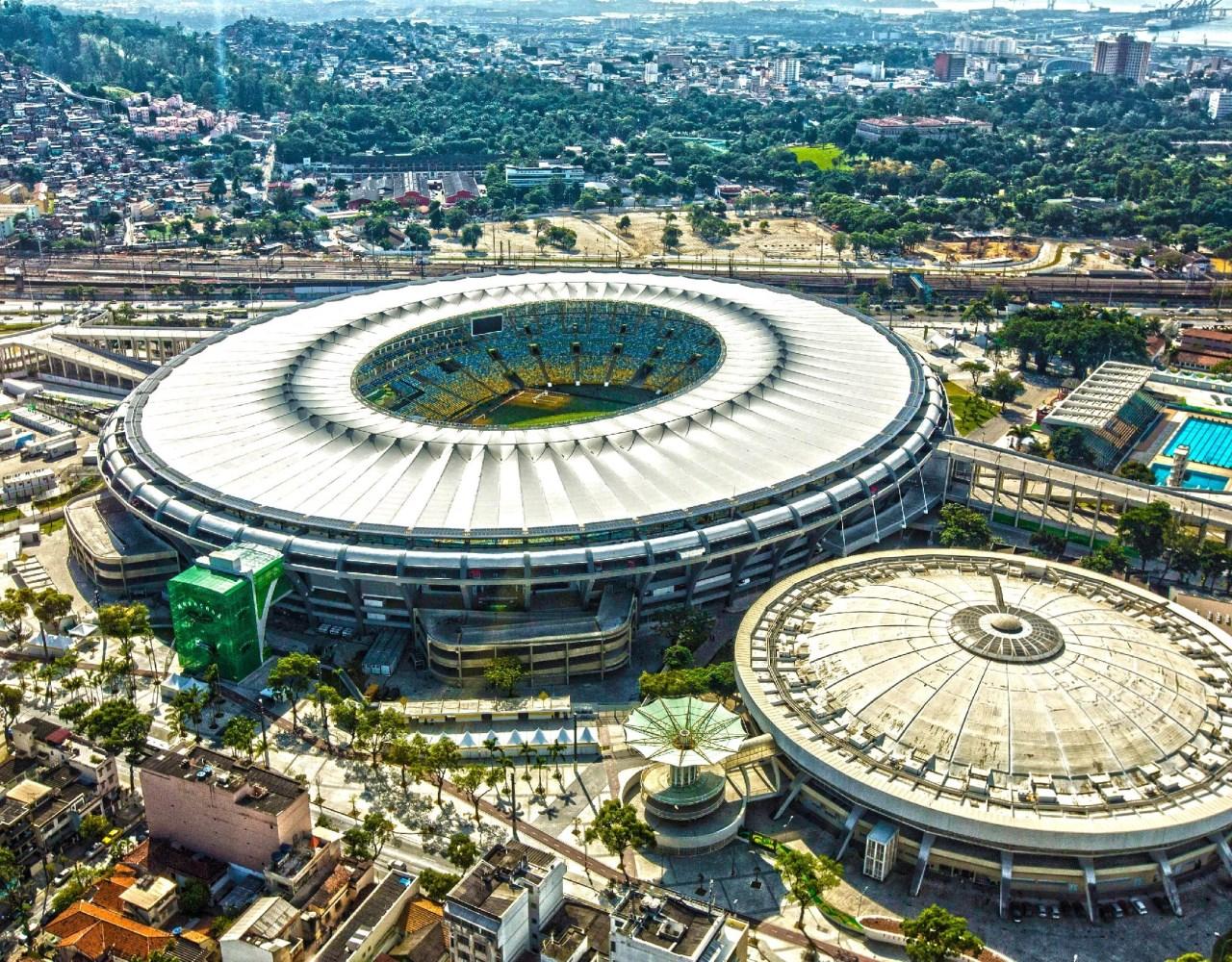 Inteligentna Infrastruktura Stadionu Maracanã W Brazyli