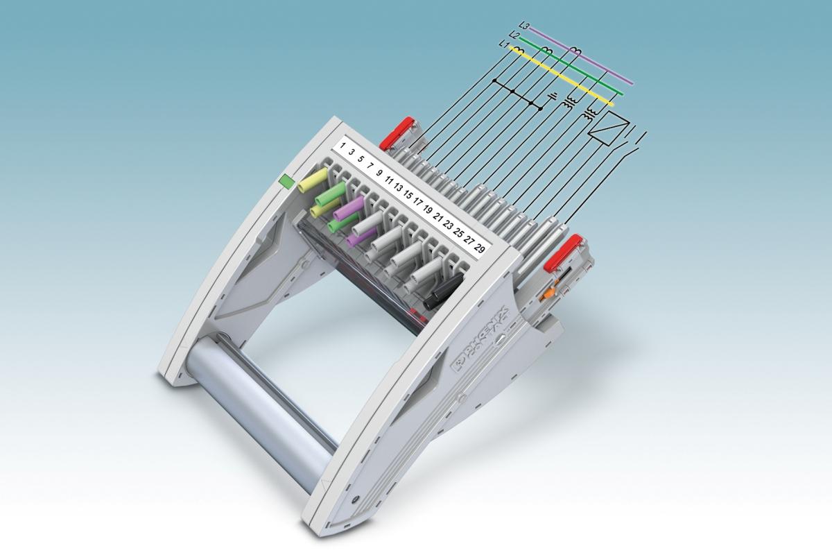 Rys. 5. Różne długości pinów styków umożliwiają uzyskanie w modułowym wtykowym systemie pomiarowym dowolnej kolejności łączenia
