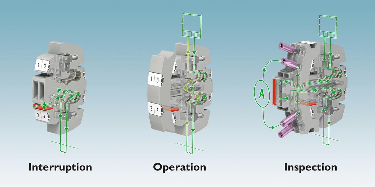 Rys. 3. W systemie FAME 2 przekładniki prądowe, napięciowe oraz sygnały sterujące są na jednej wtykowej listwie pomiarowej