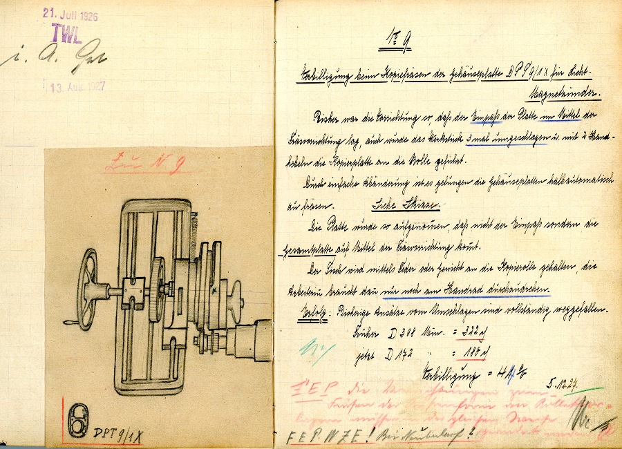 W 1924 roku Robert Bosch wprowadził zakładowe książki życzeń