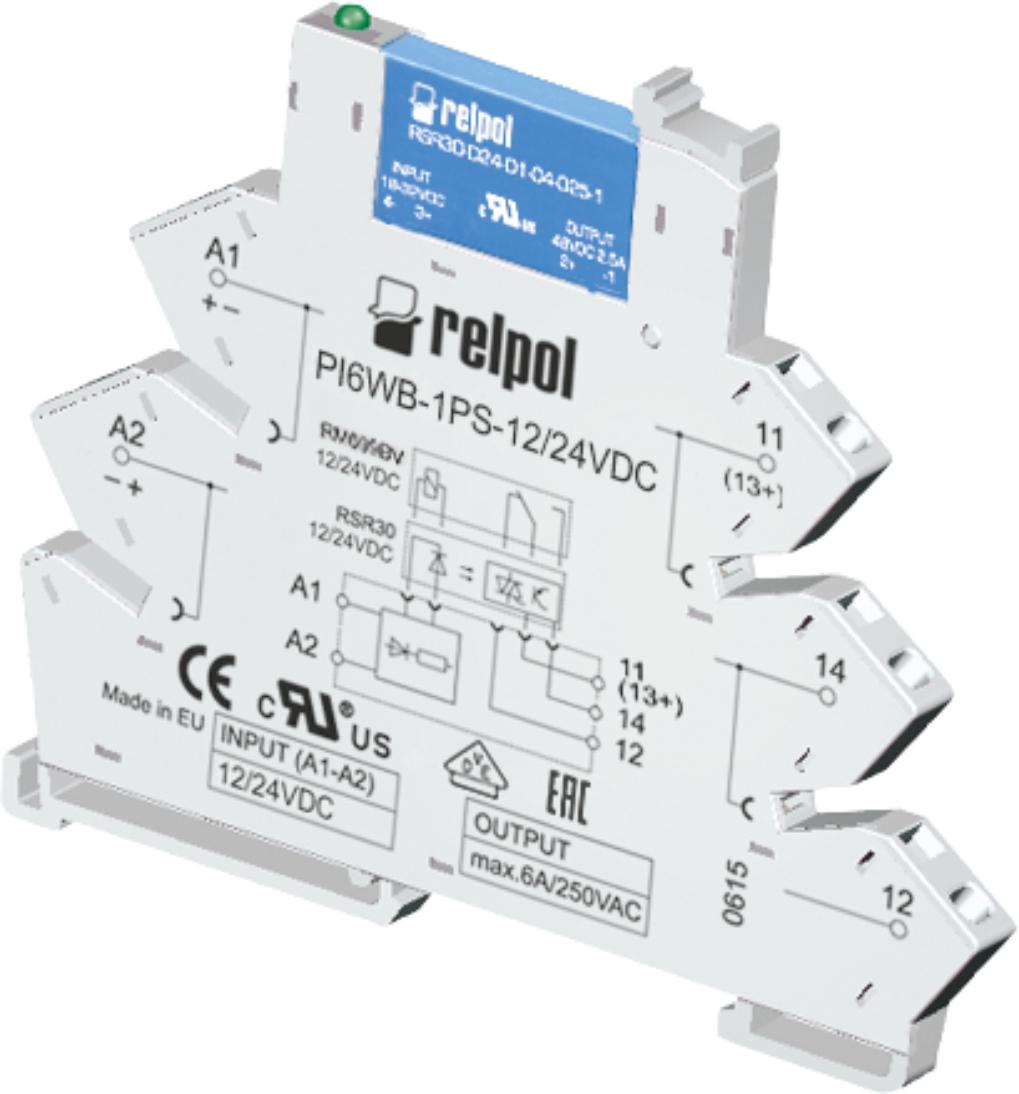 Przekaźnik interfejsowy RELPOL PIR6WB