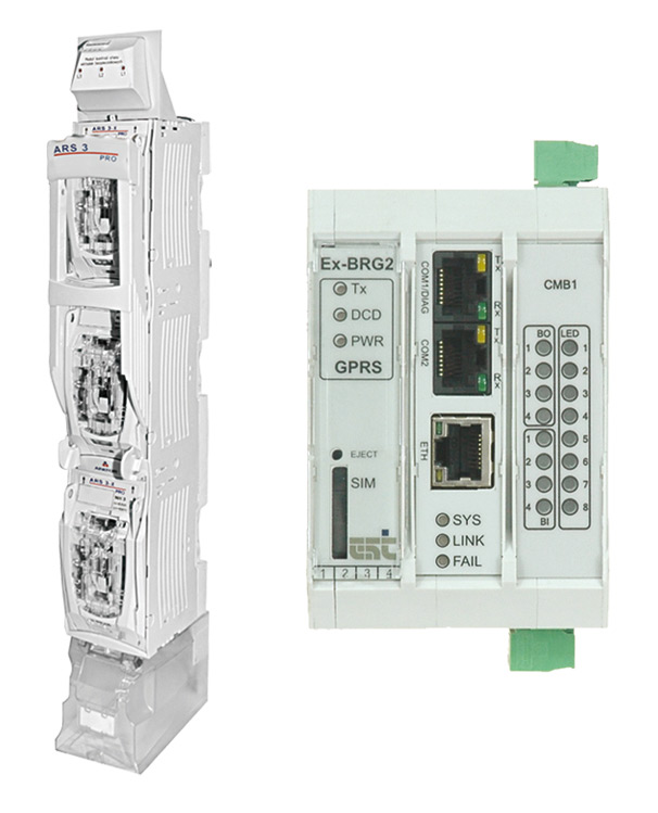 Nadzór stacji. System monitorowania rozdzielnicy w SCADA