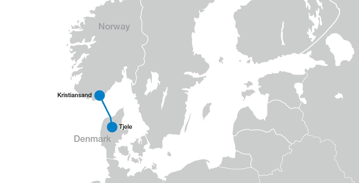 500 kilowoltowe łącze Skagerrak 4 HVDC Light® między Norwegią i duńską Jutlandią zwiększa możliwości integracyjne w zakresie energii odnawialnej
