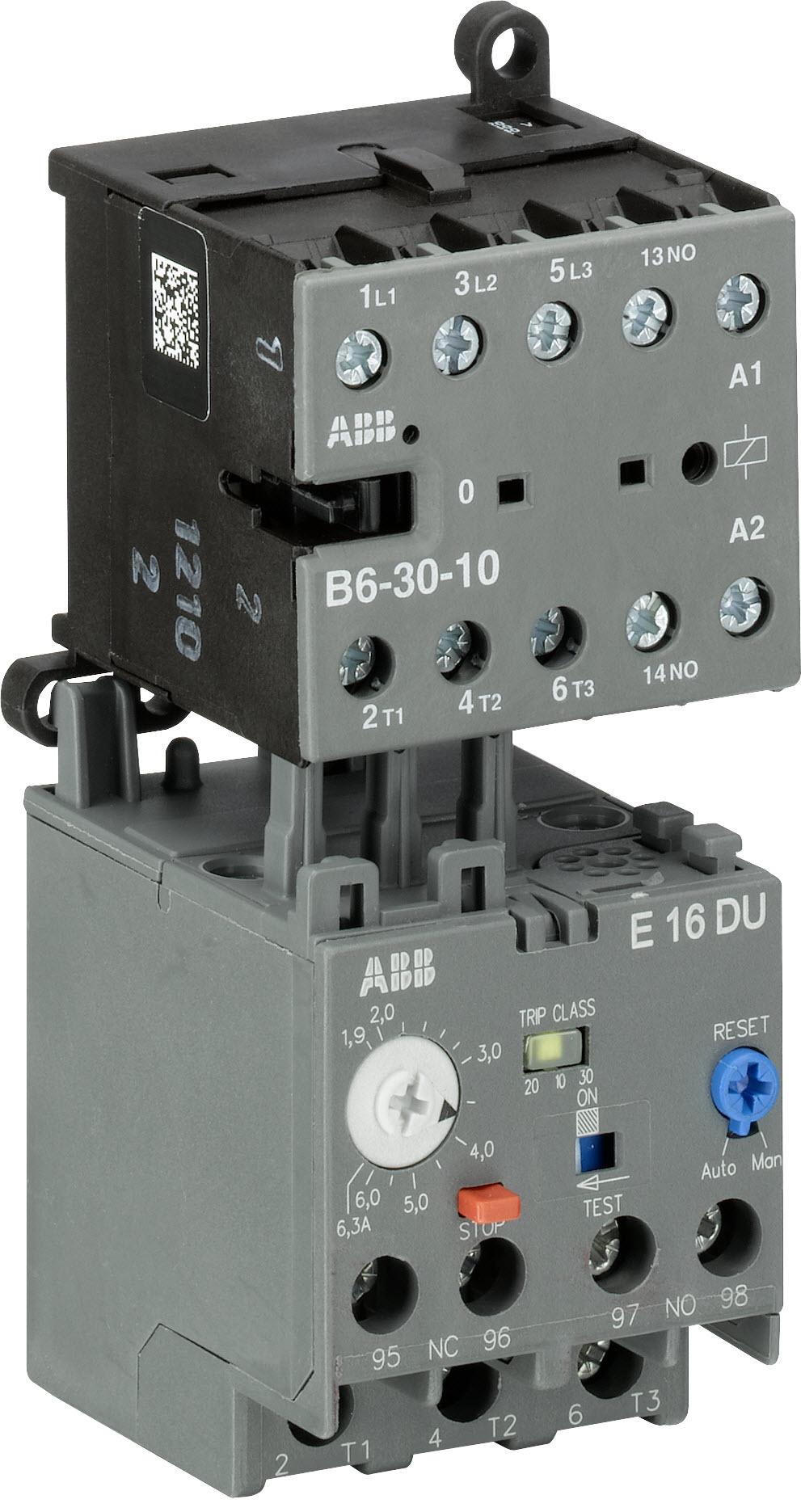 Ministycznik_B6_i_elektroniczny_przekaznik_termiczny_E16DU-63