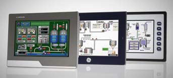 Wizualizacja na panelach HMI marki Astraada, GE Intelligent Platforms oraz Horner z oferty firmy ASTOR