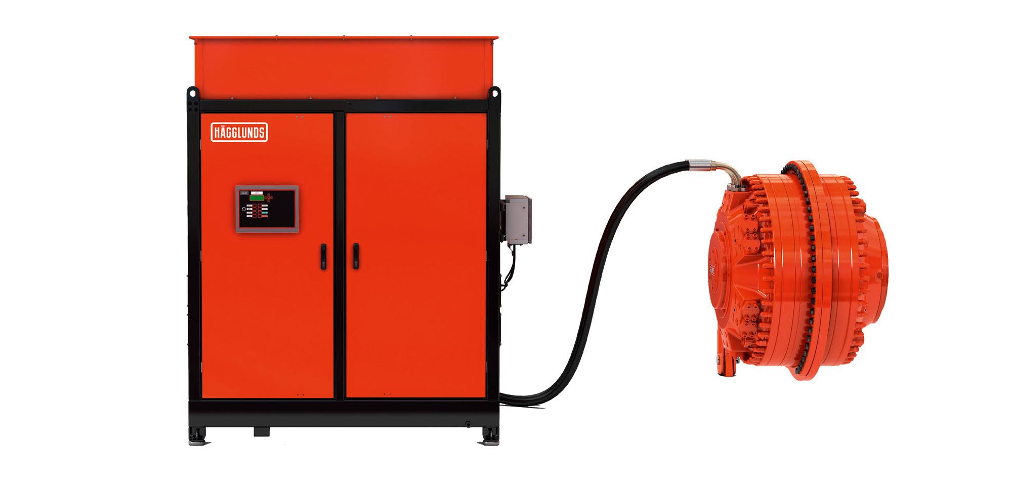 Bezpośredni napęd hydrauliczny