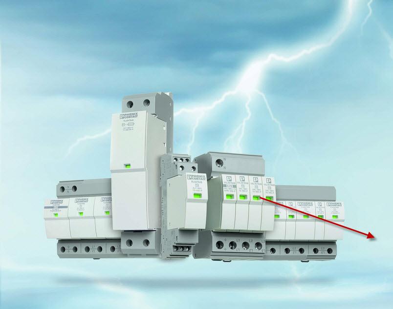 Dzięki nowemu wszechstronnemu programowi produktów w technologii Safe Energy Control firmy Phoenix Contact prawidłowy dobór odgromników i ograniczników przepięć jest tak łatwy, jak nigdy dotąd.