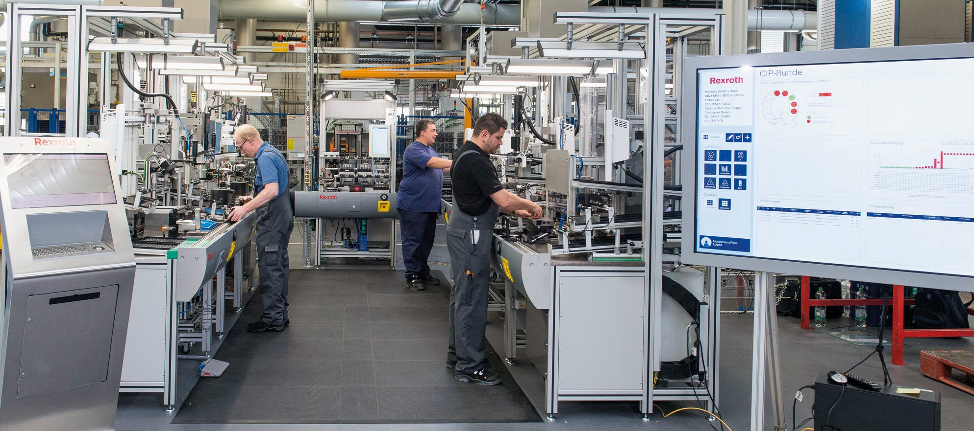 Pierwsza linia produkcyjna zgodna z koncepcją Przemysłu 4.0