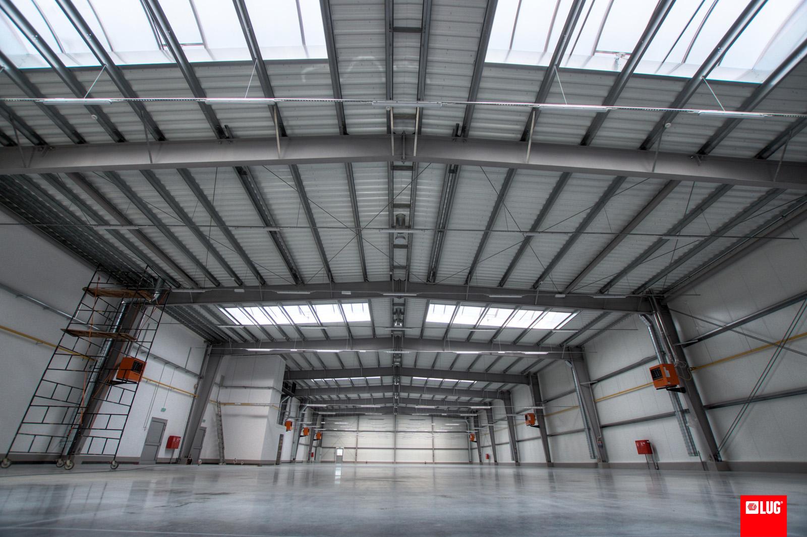 LUG wchodzi w końcową fazę budowy nowej fabryki opraw LED