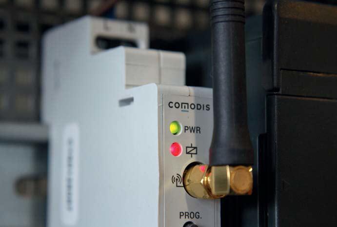 Moduł komunikacyjny Modbus AS70MCM001