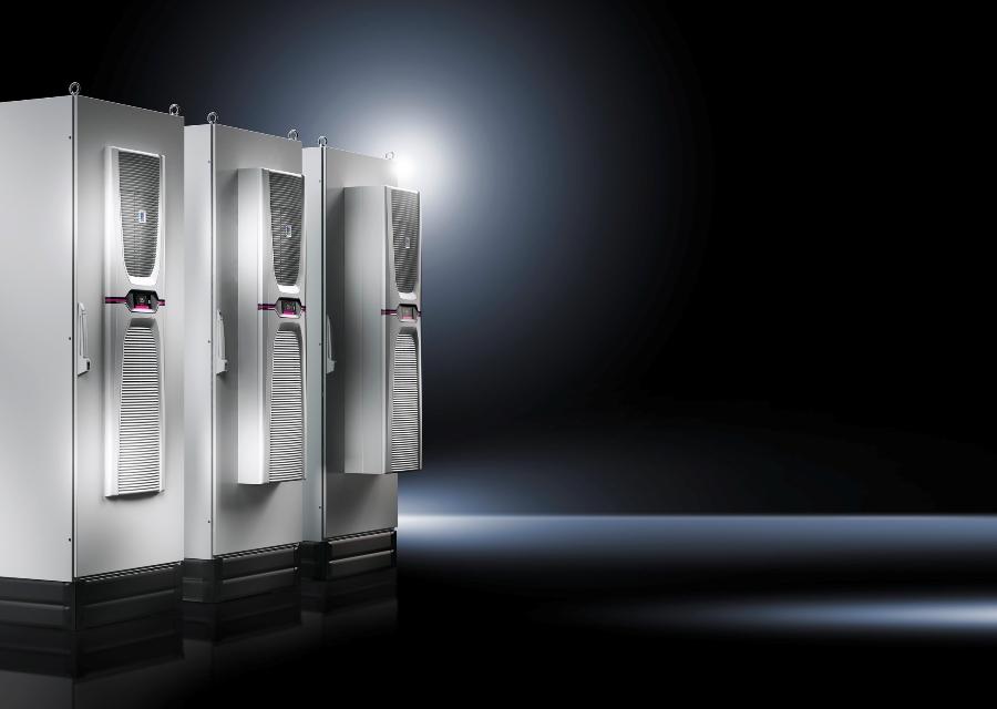 Rittal wprowadza na rynek całkowicie nową generację klimatyzatorów Blue e+