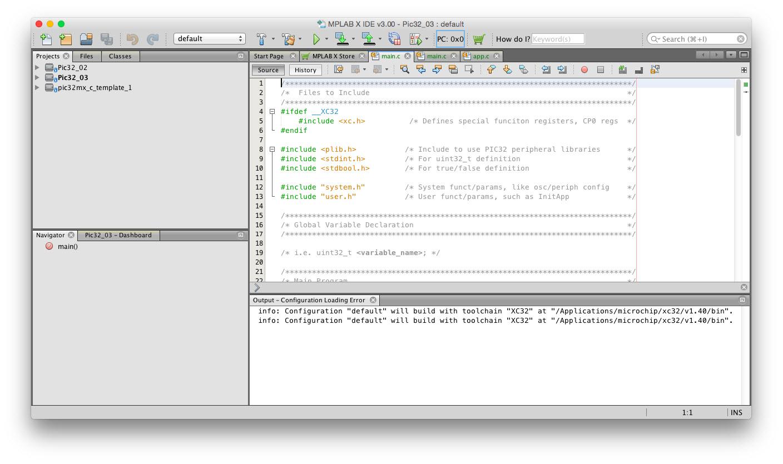 Oprogramowanie MPLAB X