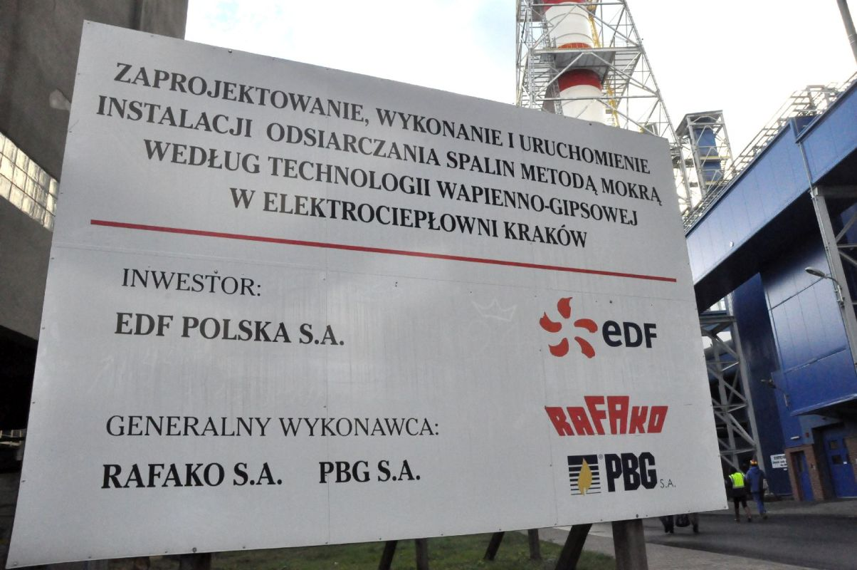 Uroczyste oddanie do użytku nowoczesnej instalacji oczyszczania spalin w krakowskiej elektrociepłowni (1)
