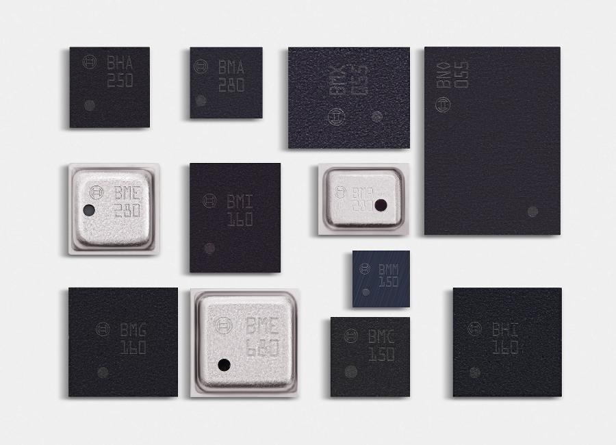 Firma Bosch Sensortec jest liderem rynku i produkuje wiele rodzajów sensorów mikromechanicznych do różnorodnych zastosowań.