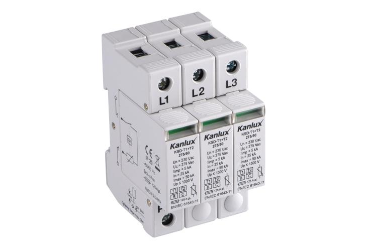 KSD-T1+T2-275-150-3P