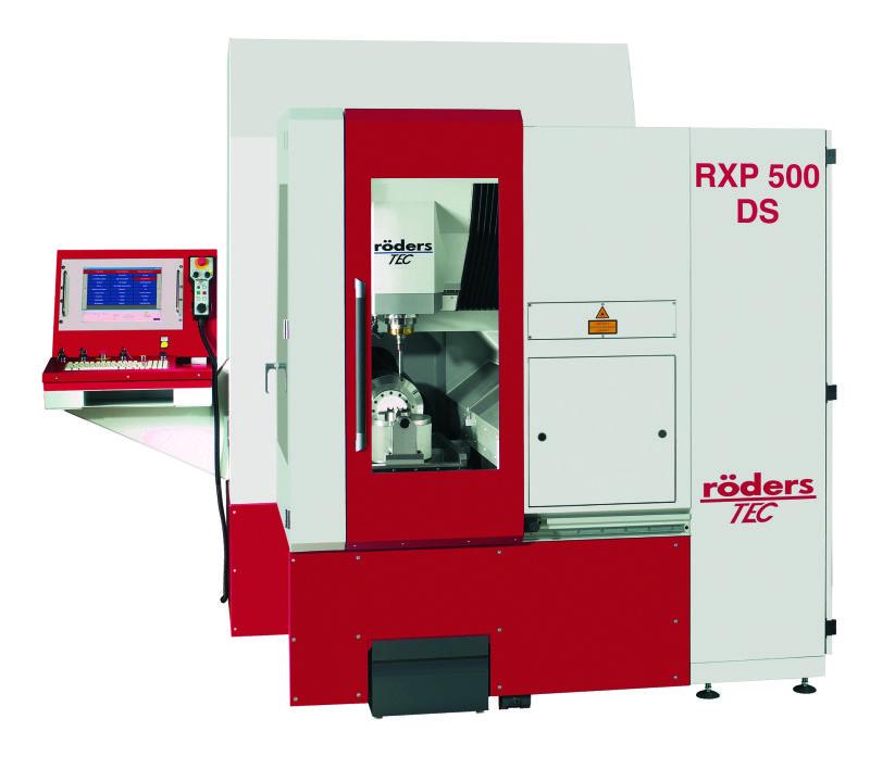 Fot. 2. Ponad 2000 maszyn HSC stosuje się w ponad 50 krajach na świecie (źródło zdjęcia: Röders TEC GmbH)