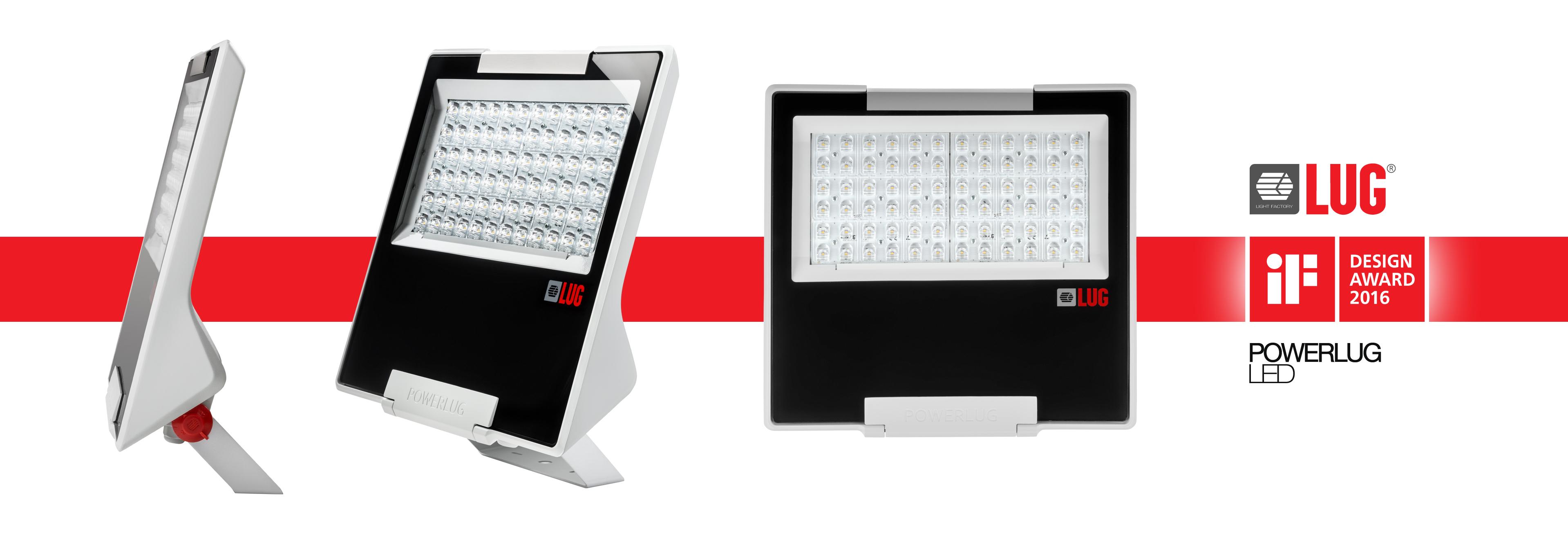 Oprawa oświetleniowa POWERLUG LED otrzymała nagrodę iF DESIGN AWARD 2016 w kategorii produkt oświetleniowy
