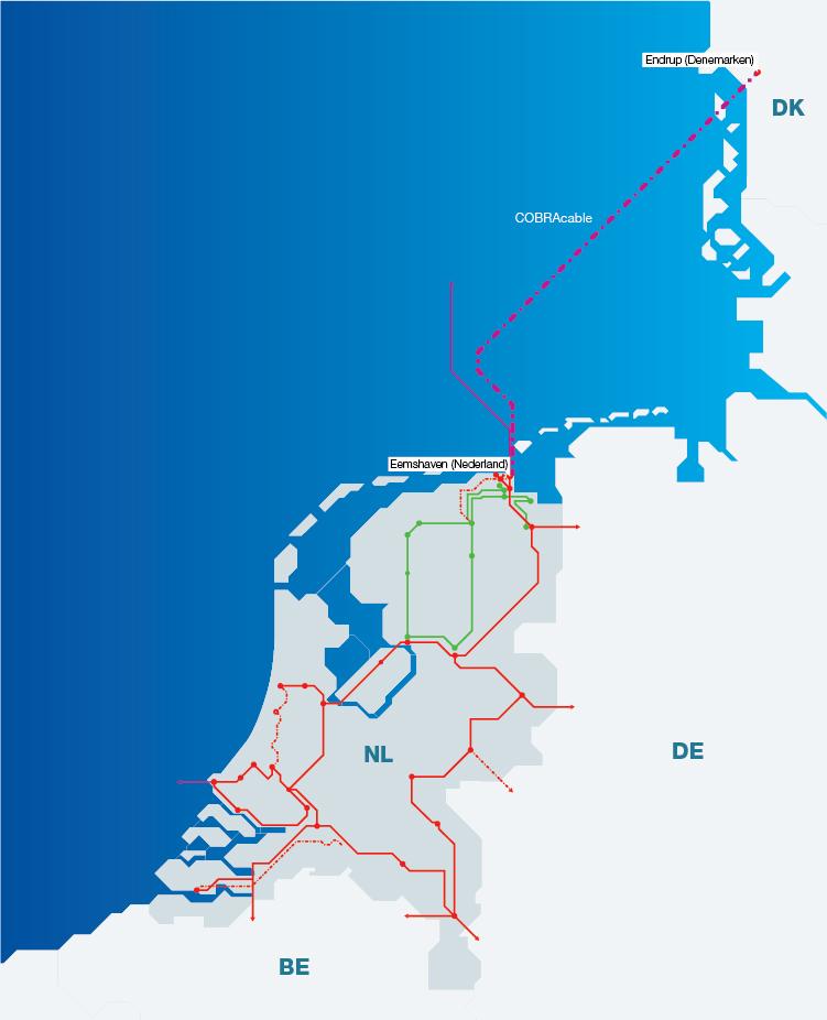 Podwodne połączenie energetyczne COBRAcable pomiędzy Holandią a Danią
