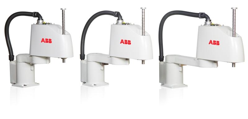 Rodzina kompaktowych robotów SCARA ABB