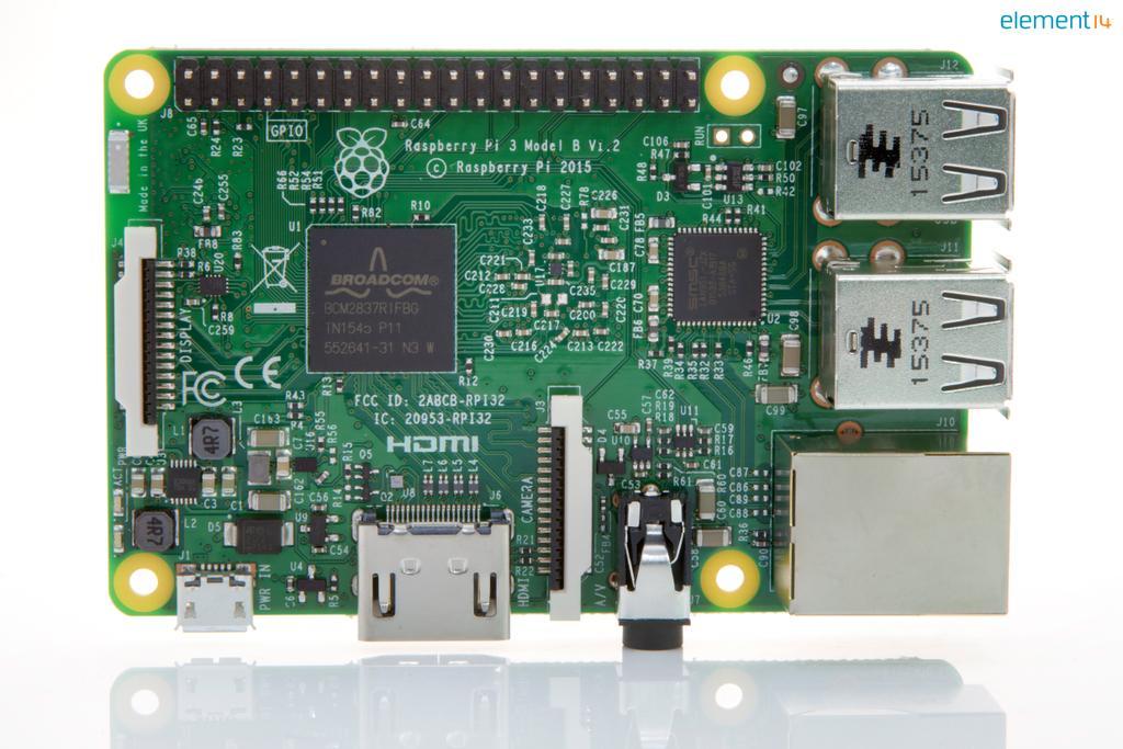 Nowa, szybsza i mocniejsza wersja Raspberry Pi z wbudowanym Wi-Fi i Bluetoothem, po raz pierwszy od razu przygotowana do wykorzystania w aplikacjach z zakresu Internetu rzeczy