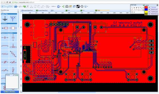 EasyEDA projektowanie obwodów elektronicznych, symulacji i konstrukcji PCB
