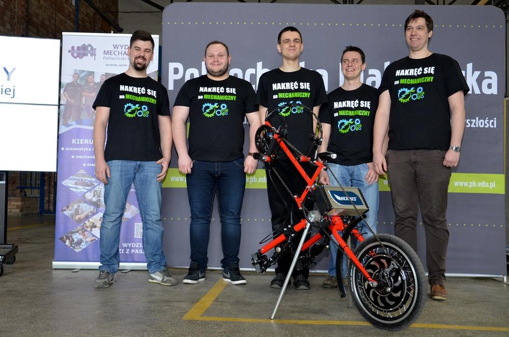 od lewej: Paweł Carewicz, Hubert Gudalewski, Gustaw Antypiuk, Krzysztof Danowski, Mateusz Darmofał