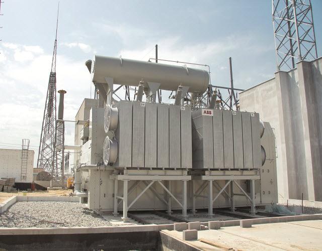 Transformator o mocy 500 MVA