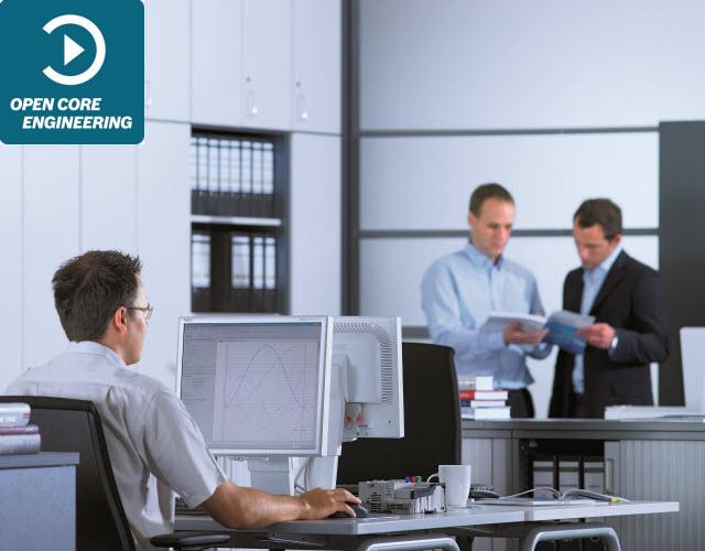Szybkie wykrywanie i analizowanie danych produkcyjnych bezpośrednio z maszyny, przy użyciu aplikacji Excel pakietu Office.