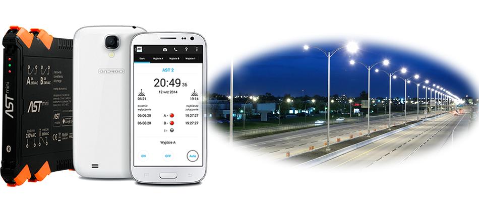 Sterownik oświetlenia ulicznego ASTmini