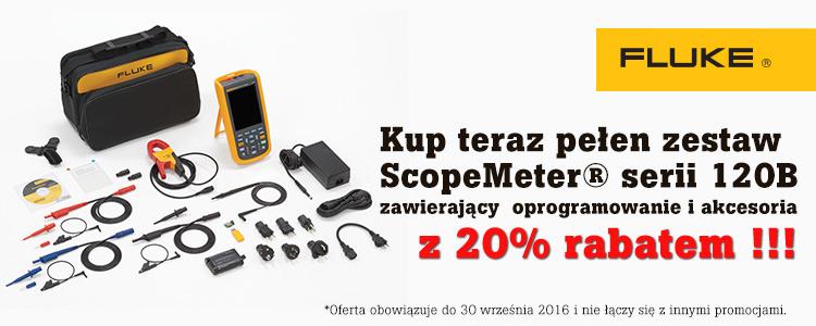 Promocyjny zestaw ScopeMeter® Fluke 125B