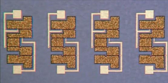 Fig. 11. Four MMICs