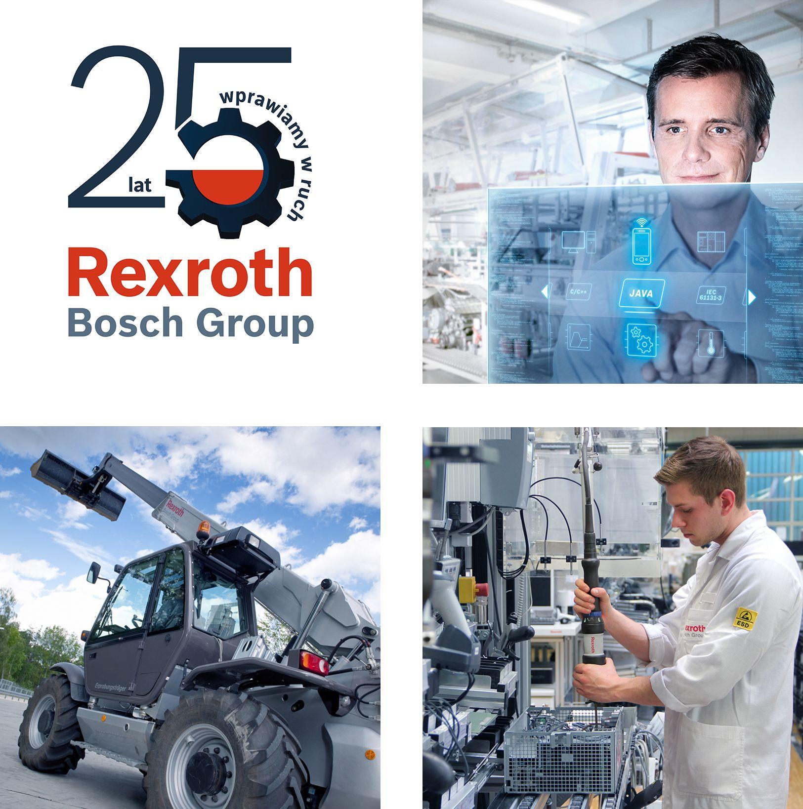 Od 25 lat wprawiamy w ruch 25-lecie firmy Bosch Rexroth w Polsce