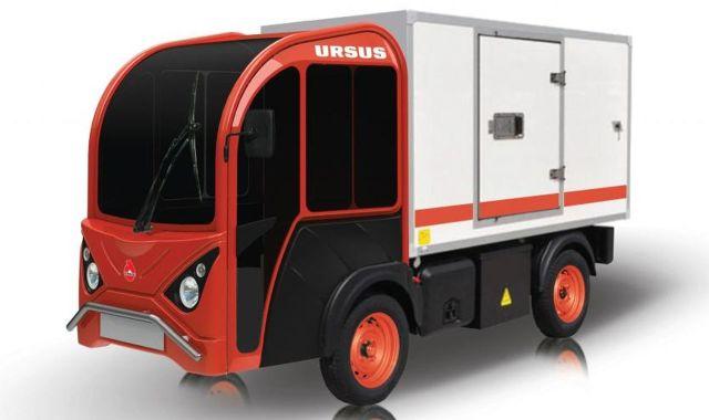 Ursus wyprodukuje dostawczy pojazd z napędem elektrycznym