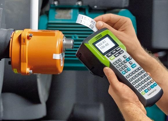 Thermofox umożliwia szybki wydruk oraz wymianę oznacznika.