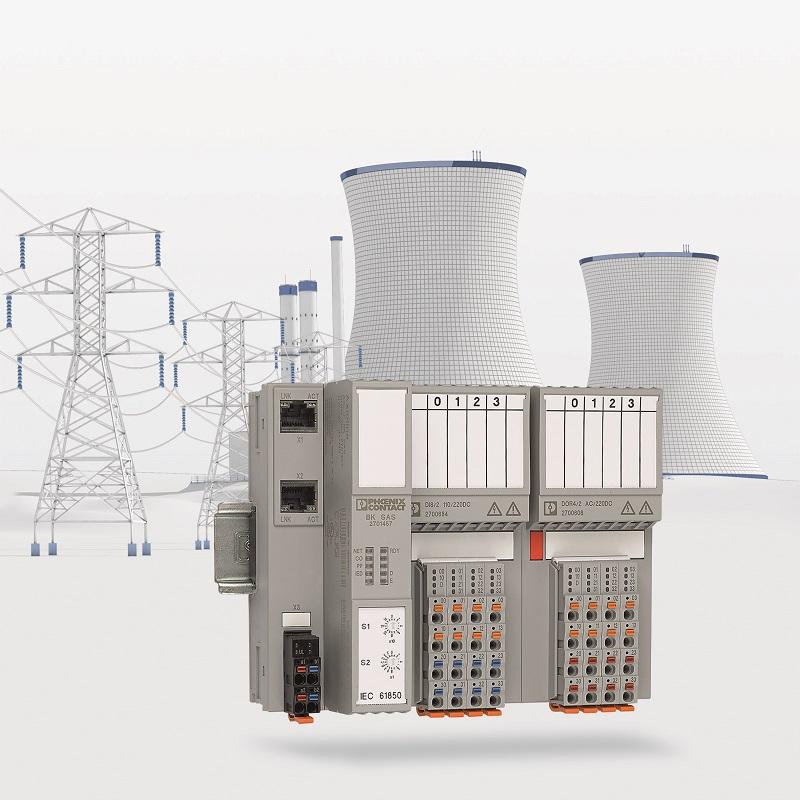 System Axioline F I/O doskonale nadaje się dla technologii energetycznych.