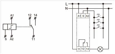 Schemat elektryczny KTR-230MVR