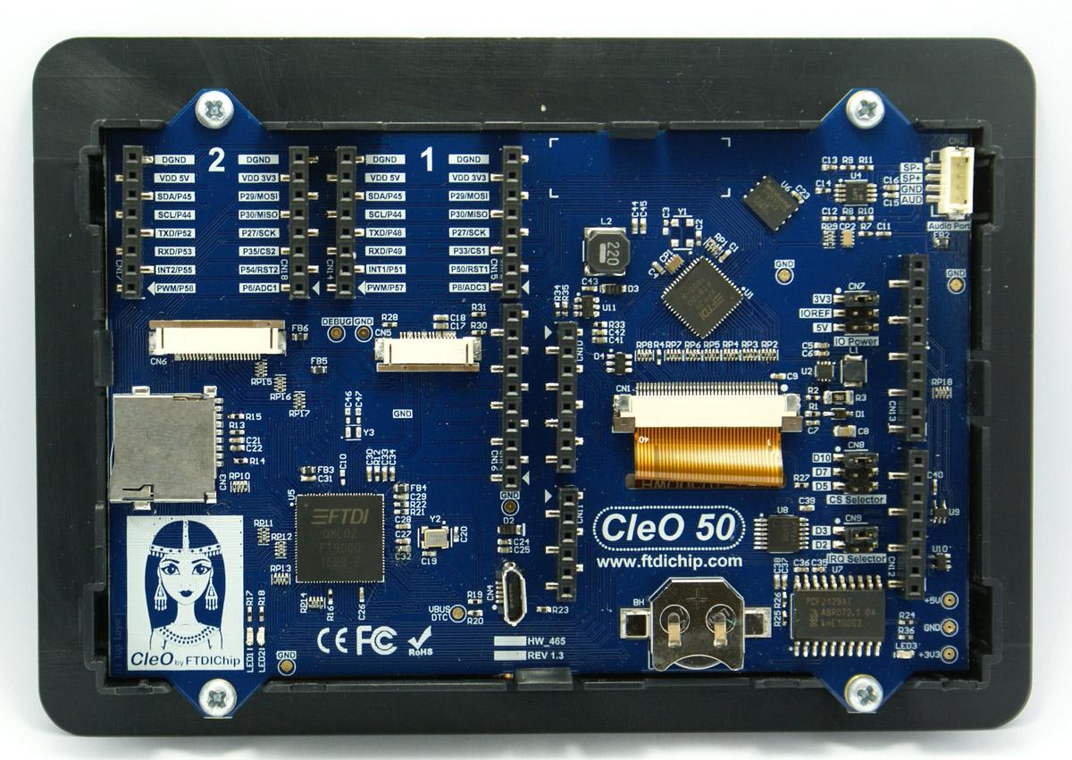 Wyświetlacz CleO50