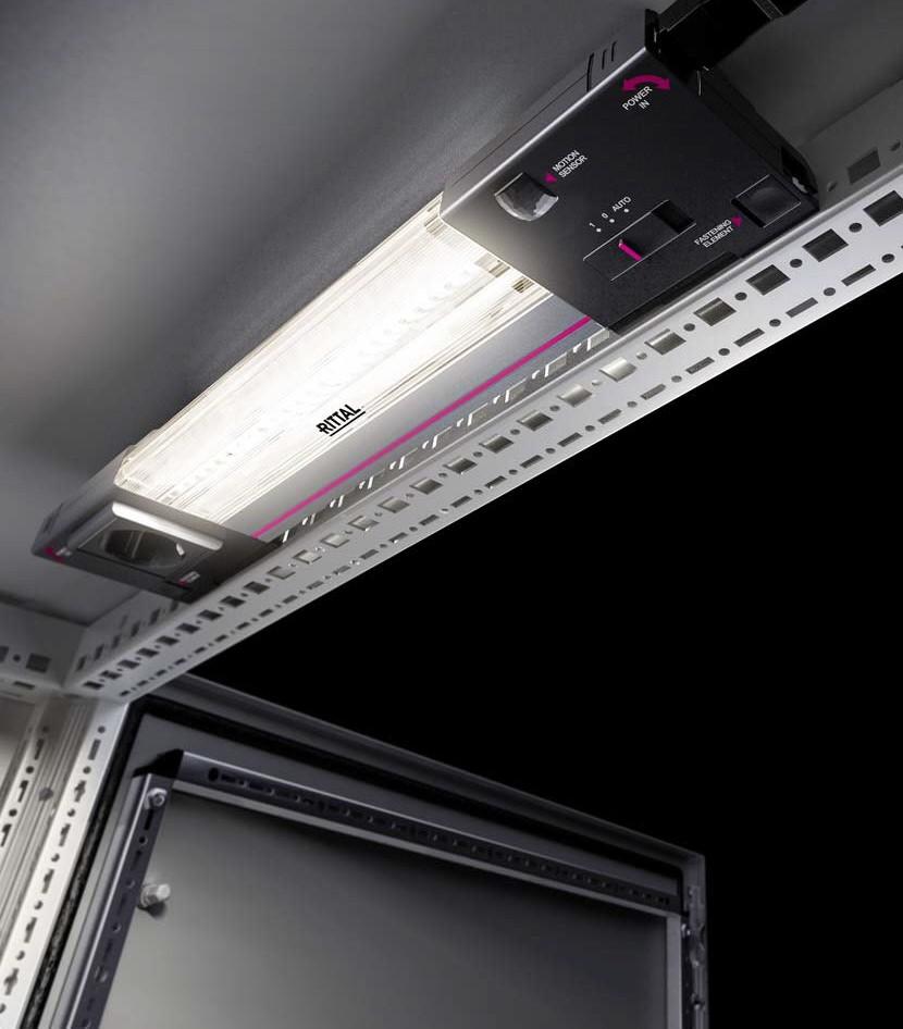Innowacyjna Technologia Led Zastępuje świetlówki Rittal