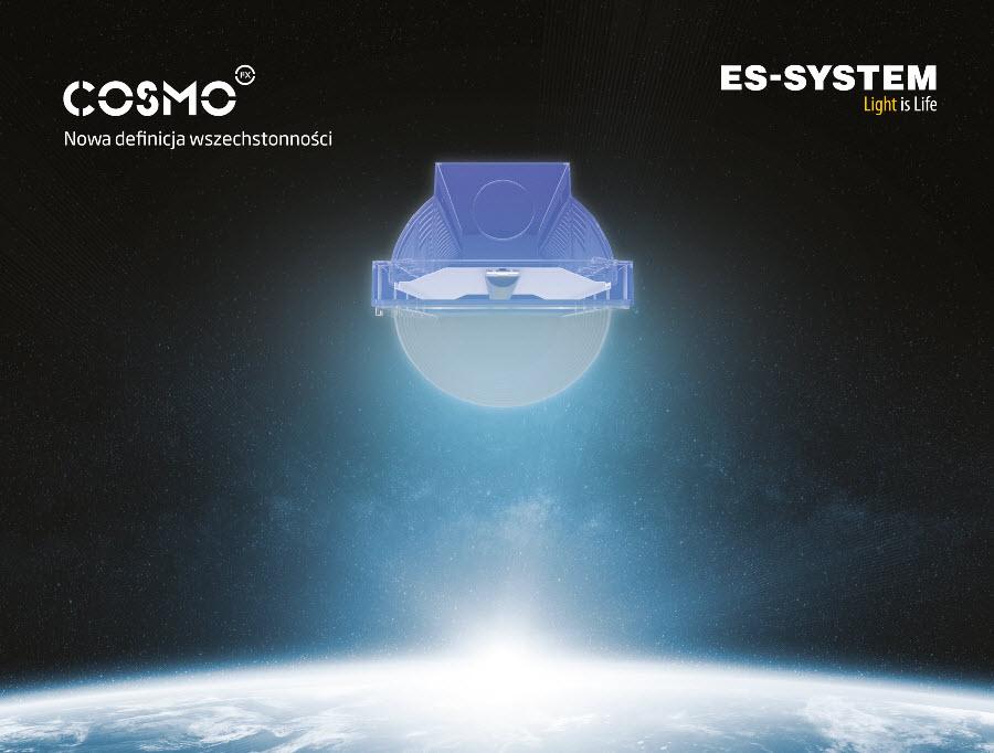 Nowa rodzina LED-owych opraw ES-SYSTEM COSMO FX
