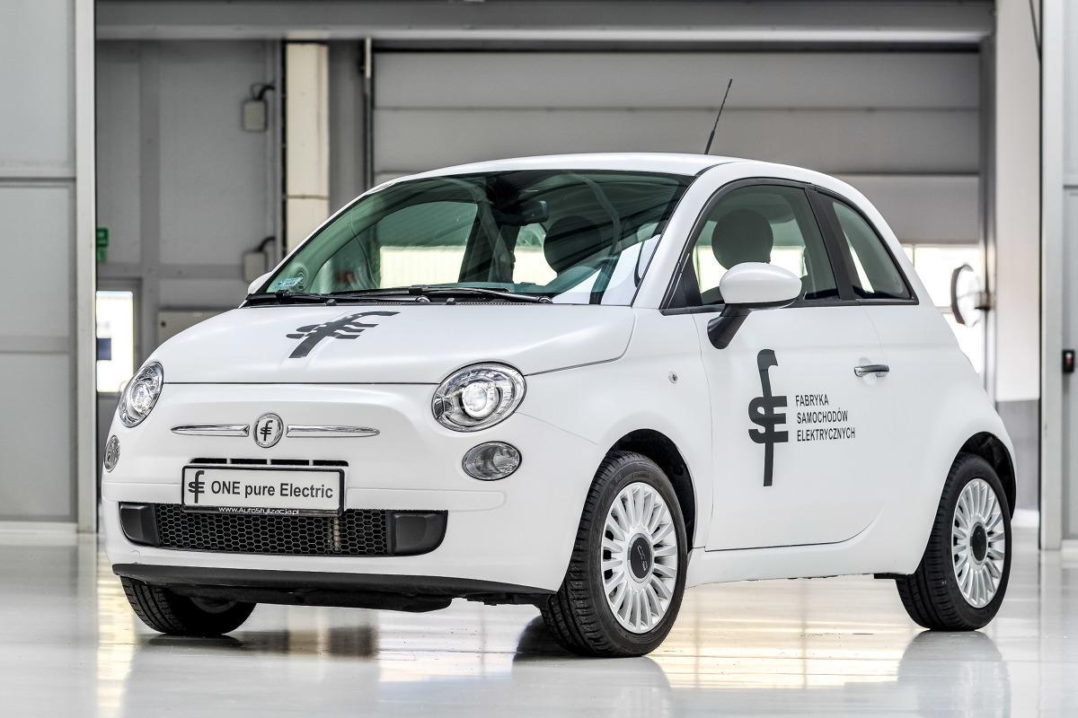 Samochód elektryczny FSE 01 z Bielska-Białej