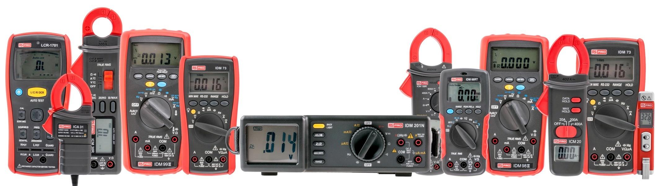 Asortyment RS Pro został wzbogacony o ponad 500 produktów do testowania i pomiarów