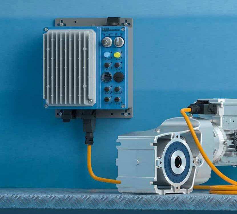 Przetwornice częstotliwości i rozruszniki silników NORDAC LINK